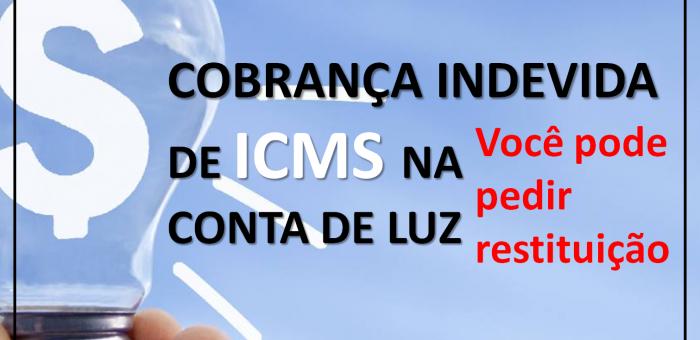 ICMS SOBRE CONTA DE ENERGIA